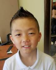 boys faded haircut design