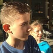 haircut design lines fade