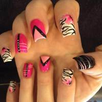 26+ Colorful Nail Art Designs, Ideas