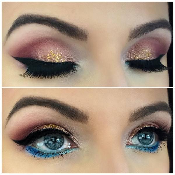 Arabic Eye Makeup Design Trends Ideas