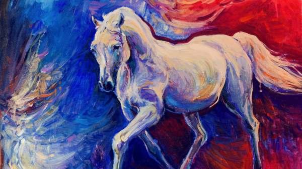 Horse Art Drawings Paintings