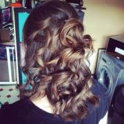 curly wedding hairstyle ideas