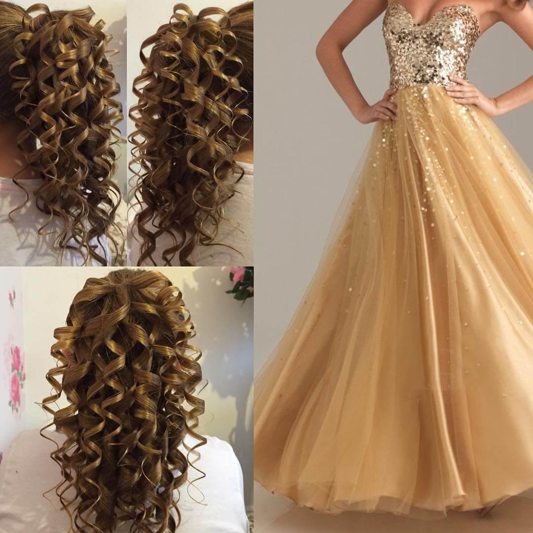 25 Curly Wedding Hairstyle Ideas Designs  Design Trends  Premium PSD Vector Downloads