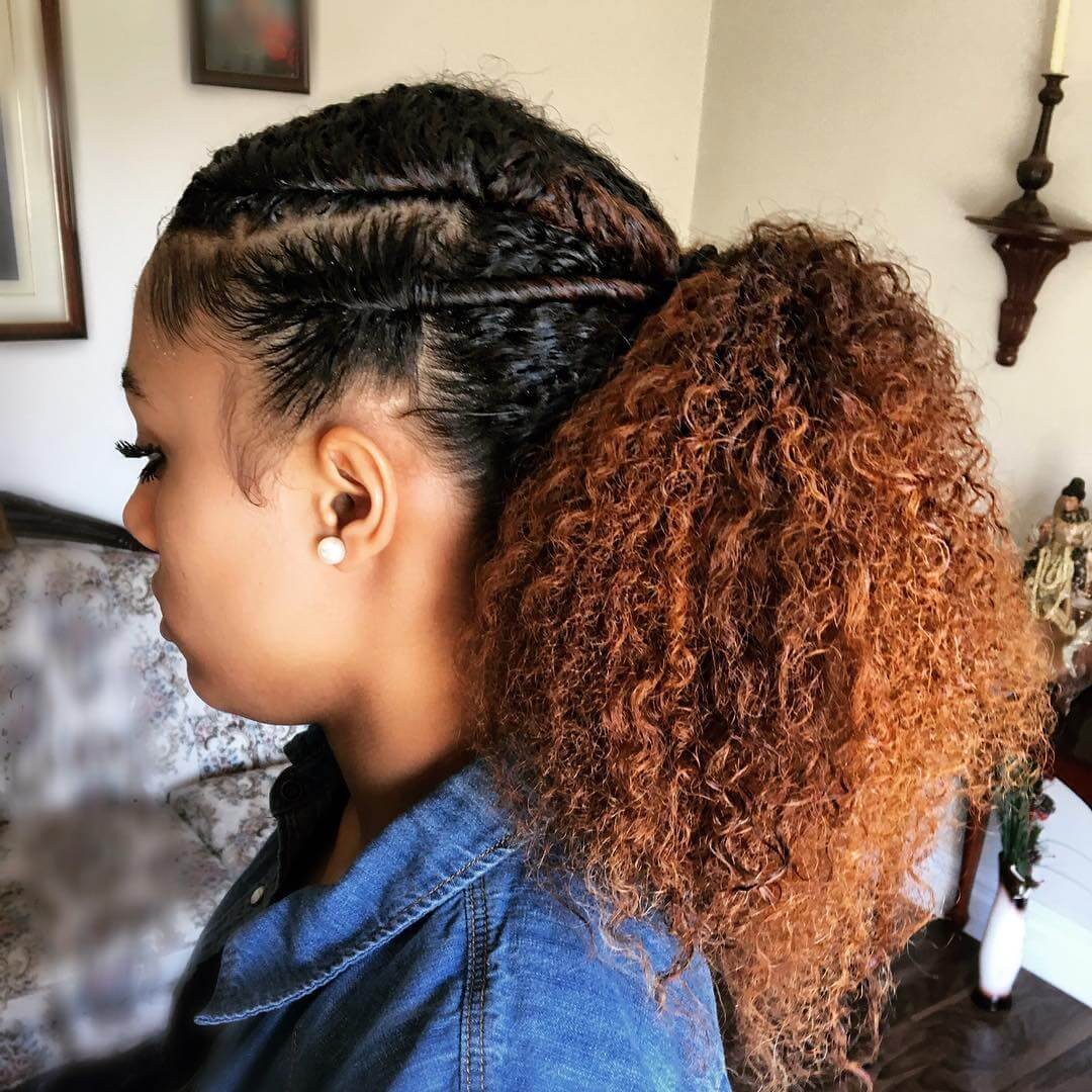 27 Simple Natural Hairstyle Designs Ideas Design Trends