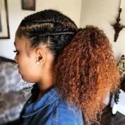 simple natural hairstyle design