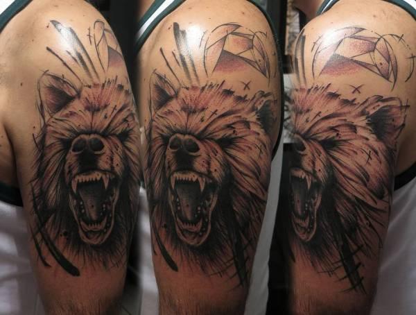 bear tattoo design ideas