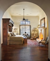 Mediterranean-style Master Bedroom