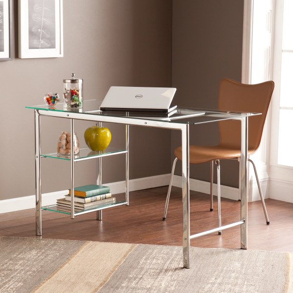Contemporary Office Desk Design Decorating Ideas