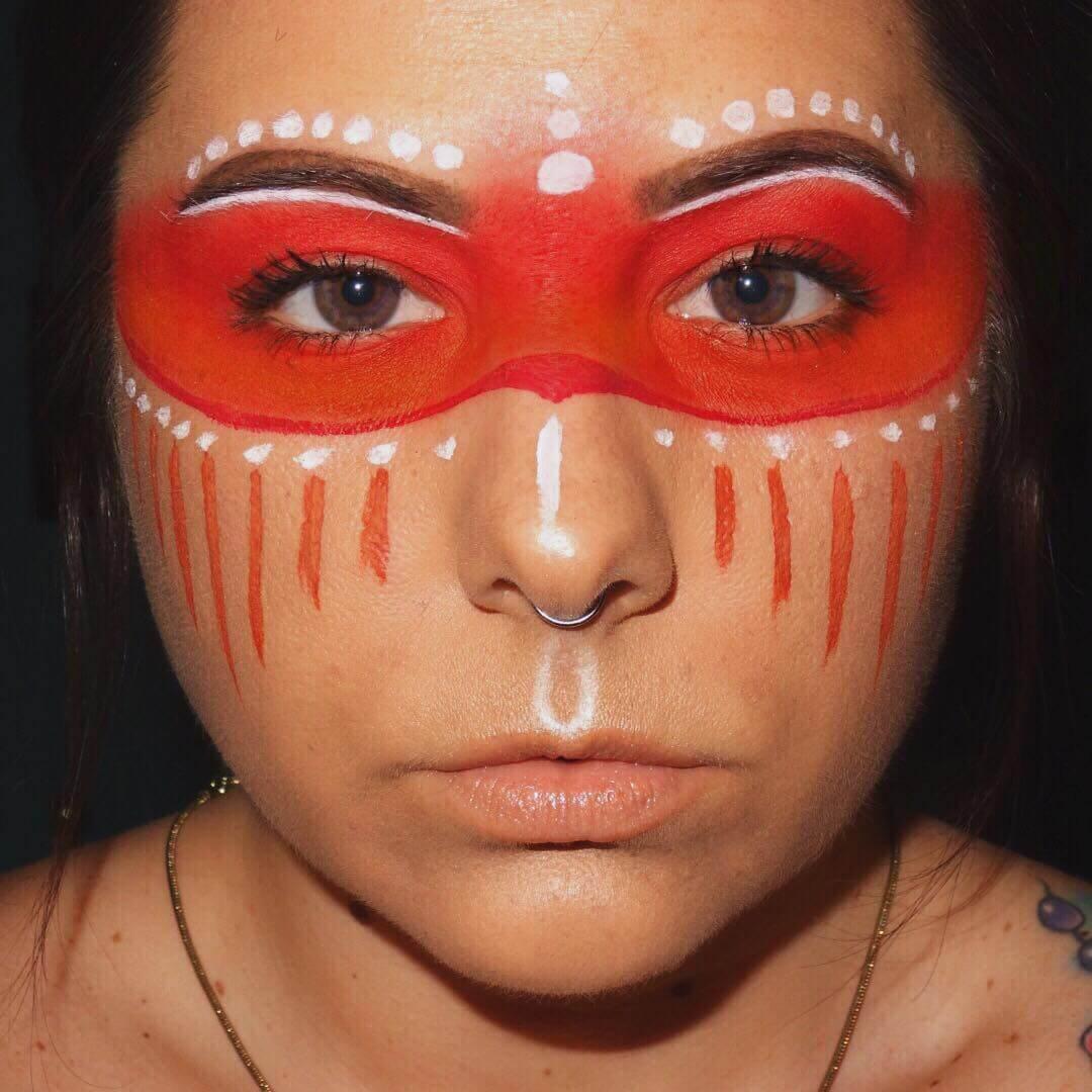 Princess Native Indian American Warrior