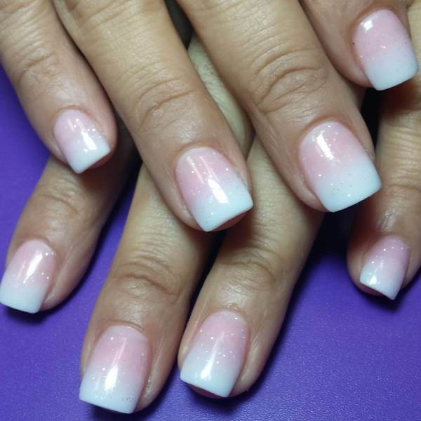 Simple French Nail Designs
