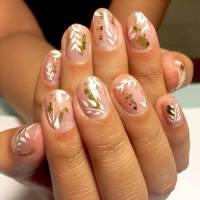 21+ Short Nail Art Designs, Ideas | Design Trends ...