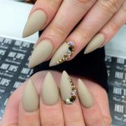 pointed nail art design ideas