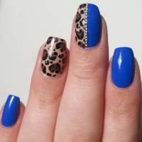 21+ Royal Blue Nail Art Designs, Ideas