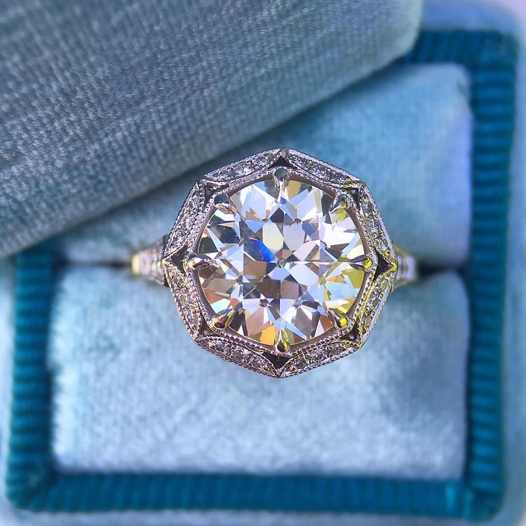 21 Vintage Inspired Engagement Ring Designs Trends