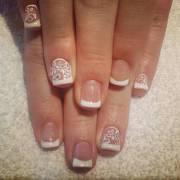 white nail art design ideas