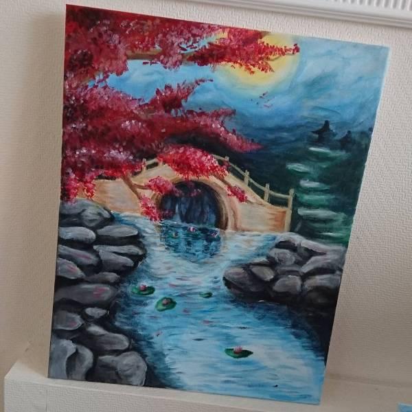 Ballpoint Pen Landscape Art