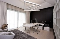21+ Black and White Home Office Designs, Decorating Ideas ...