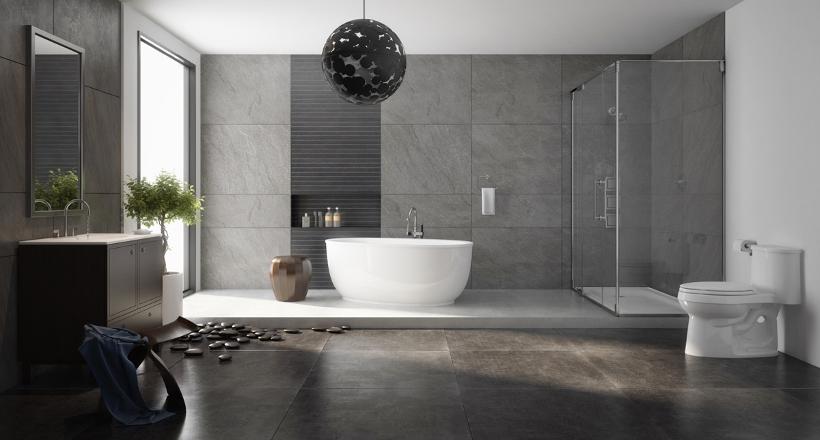 charcoal bathroom designs decorating