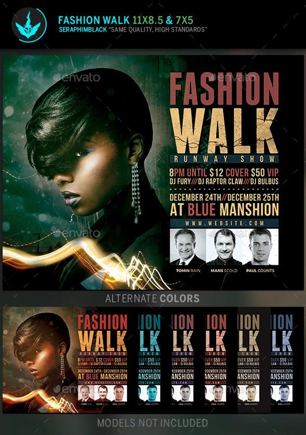 22  Awesome Fashion Flyer PSD Designs  Design Trends
