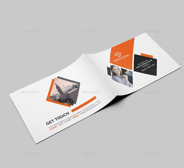 22 Landscape Brochure Designs PSD AI Google Docs Apple Pages Design Trends Premium PSD