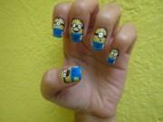 minion nail art design ideas