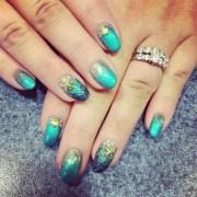 mermaid nail art design ideas