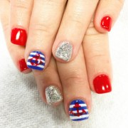 fourth of july nail art design