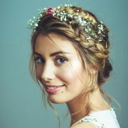 vintage wedding haircut design