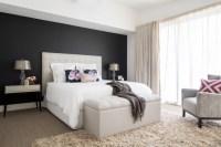 21+ Bedroom Accent Wall Colour Designs, Decor Ideas ...