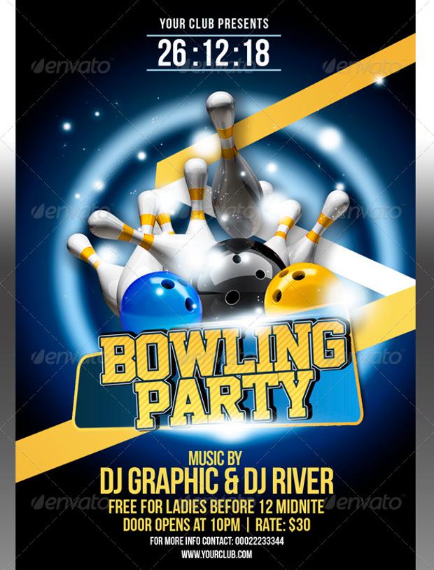 21 Bowling Flyer Designs PSD Download Design Trends Premium PSD Vector Downloads