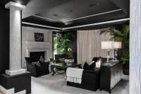 21+ Black and White Living Room Designs   Design Trends ...