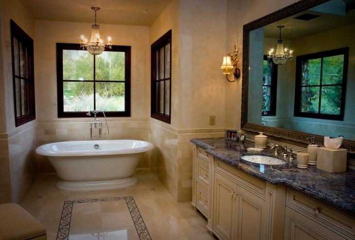 21+ Granite Bathroom Countertop Designs, Ideas, Plans