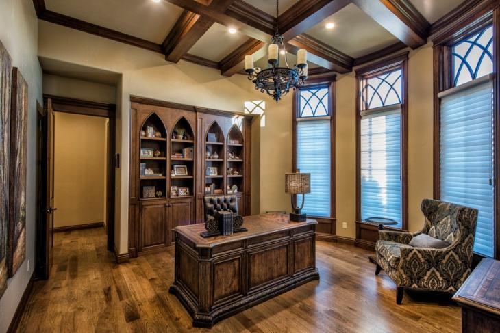 16 Gothic Office Designs Decorating Ideas  Design