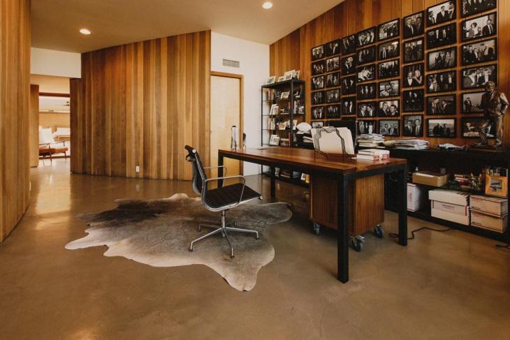21 Mid Century Home Office Designs Decorating Ideas