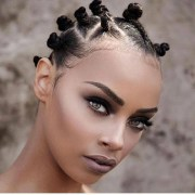 bantu knots haircut ideas