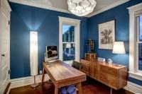 21+ Blue Home Office Designs, Decorating Ideas   Design ...