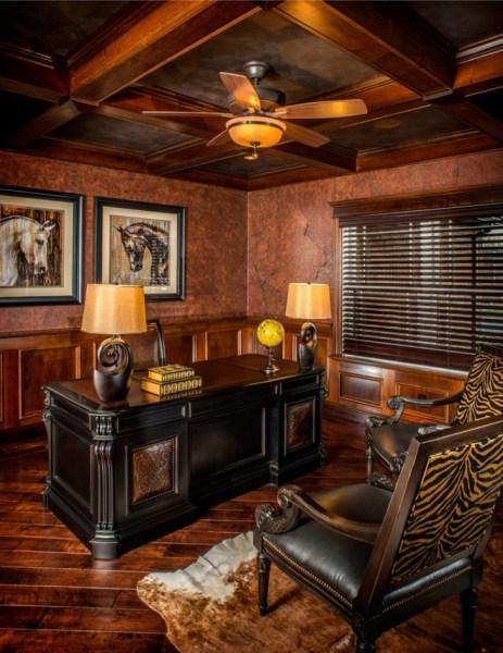 rustic home office design 20+ Rustic Home Office Designs, Decorating Ideas | Design