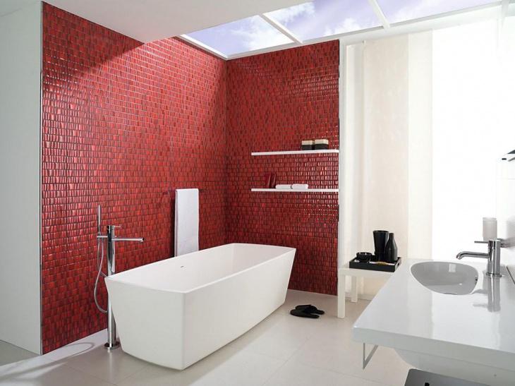 20 Mosaic Tile Bathroom Designs Decorating Ideas  Design Trends  Premium PSD Vector Downloads