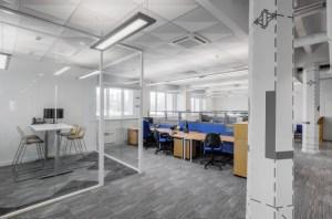 office background grey designs interior