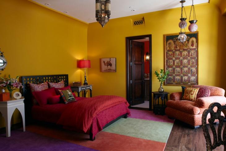 21 Moroccan Bedroom Designs Decorating Ideas  Design Trends  Premium PSD Vector Downloads