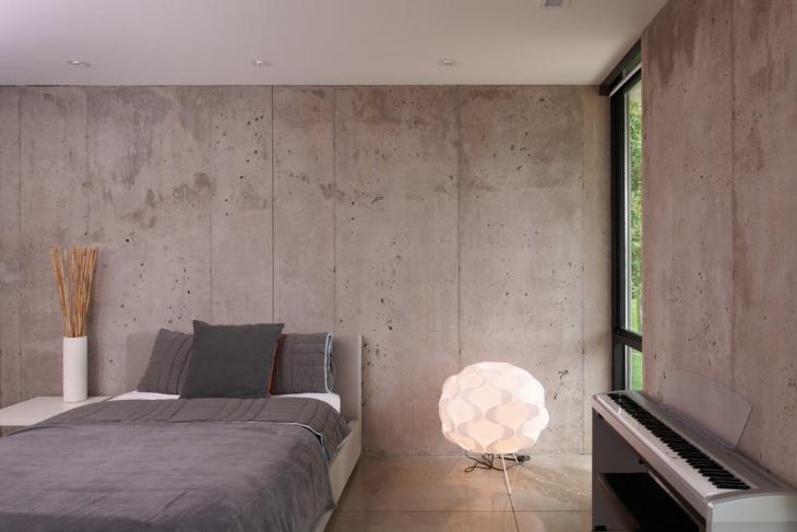 21 Concrete Bedroom Designs Decorating Ideas  Design