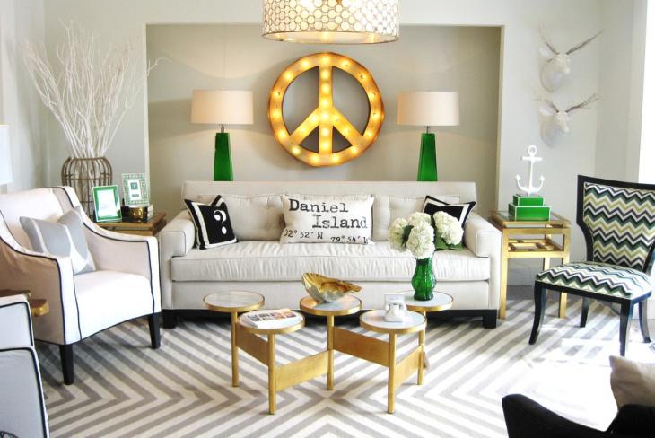 mid century modern living room armchair best colors 2018 sherwin williams 21+ retro designs, decorating ideas   design ...