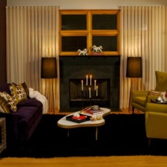 Black Gold Living Room Ideas Glass Door Cabinets 19+ Purple And Designs, Decorating ...