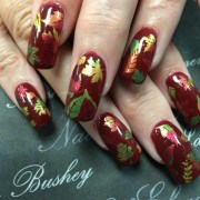 autumn nail art design ideas