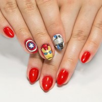 20+ Avengers Nail Art Designs, Ideas | Design Trends ...