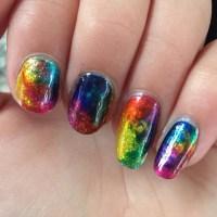 21+ Mismatched Nail Art Designs, Ideas | Design Trends ...