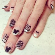 retro nail art design ideas