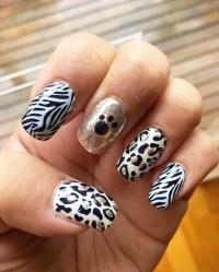 21+ Animal Print Nail Art Designs, Ideas | Design Trends ...