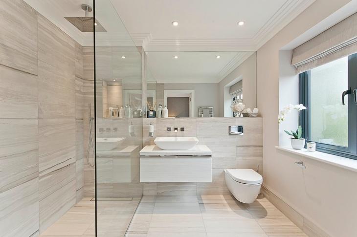 21+ Italian Bathroom Wall Tile Designs, Decorating Ideas