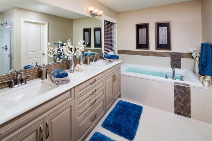 Beige Bathroom Set
